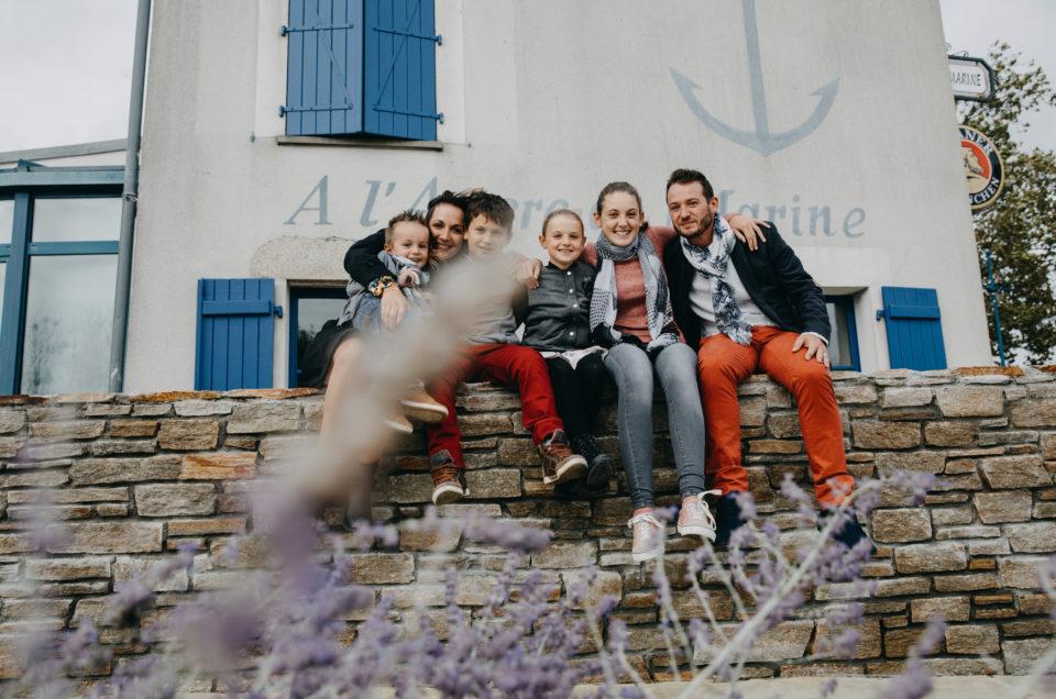 Une séance photo en famille en extérieur – à Cordemais (44) – avec Hélène Charier Photographe