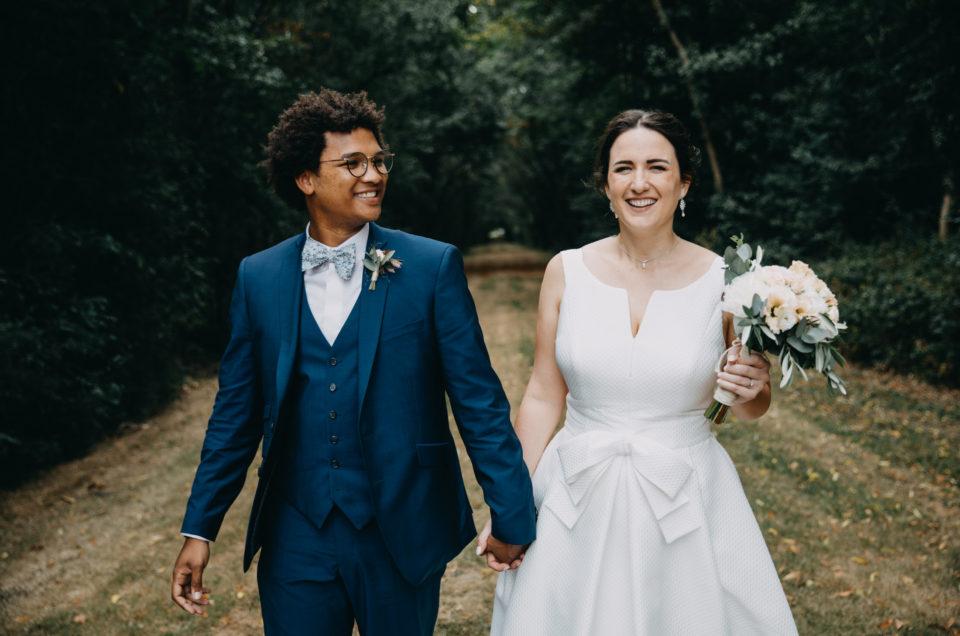 Le mariage d'Elise et Axel au domaine des Lys